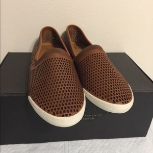 Frye Shoes - Frye Melanie Perforated Slip On Size 8